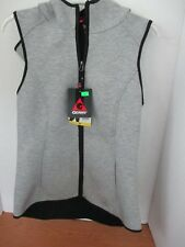 GERRY~Gray HOODED ATHLETIC VEST~Women's Small~NWT