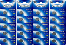 20 X EUNICELL CR1220 3v LITHIUM BUTTON/COIN CELL BATTERIES