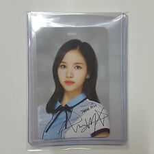 Twice Official Skoolooks Photocard Ver.2 MINA K-POP School Look Photo Card #1