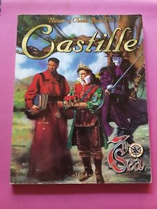 CASTILLE - NATIONS OF THEAH BOOK FIVE  7TH SEA ROLEPLAYING JOHN WICK AEG RPG OOP