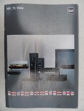 DUAL PROSPEKT aus 1991,SEITEN 52,TECH.DATEN,CV 5670,5650,6065 Rc,CS 7500,CC 5850