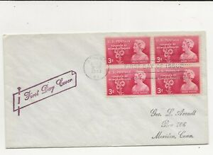 United States Comm/FDC - Founder of Memorial Poppy  - 1948 (070)