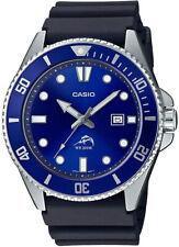 Casio MDV106B-2AV Men's Duro 200M Black Resin Band Blue Dial Analog Dive Watch