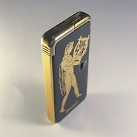 vintage lighter windmill battery music musical made in japan