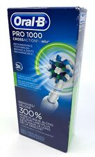 Oral-B Pro 1000 CrossAction Braun Rechargeable Electric Toothbrush