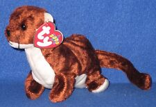 TY RUNNER the FERRET BEANIE BABY - MINT with MINT TAGS