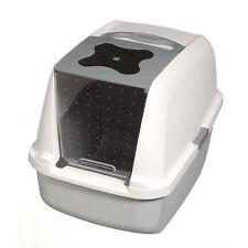 Catit Grey Hooded Cat Pan