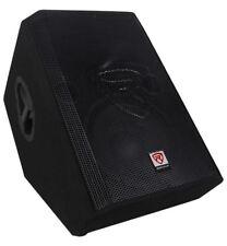 """New Rockville RSM12P 12"""" 1000 Watt 2-Way Passive Stage Floor Monitor Speaker"""