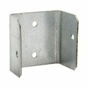 Fence Panel Clips 40mm 46mm 52mm Galvanised Brackets Fencing Post Panel Clips