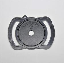 THE CAP BUCKLE LENS CAP KEEPER 43MM OR 55MM AND 52MM CENTRE PINCH CLIP ON CAP