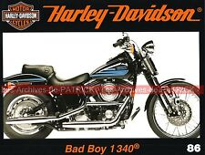 HARLEY DAVIDSON 1340 Bad Boy Magazine Enthusiast 1980 ; Bibo Custom MOTO HD