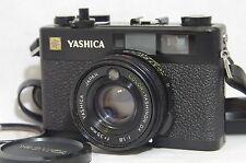 Yashica Electro 35 CC Film Camera SN10607858 w/Color-Yashinon DX 35mm F/1.8 Lens