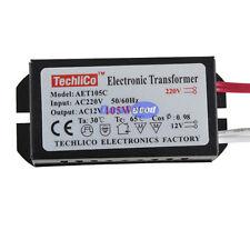 New 105W 220V to12V Halogen Light LED Driver Power Supply Electronic Transformer