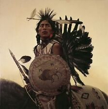 James Bama YOUNG PLAINS INDIAN, Giclee Canvas ARTIST PROOF A/P#20/20