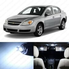 8 x Xenon White LED Interior Light Package For 2005- 2010 Chevrolet Chevy Cobalt