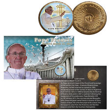 Pope Francis Colorized 2013 Argentine Peso Commemorative Coin