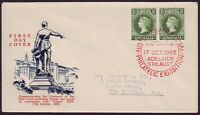 1955 ANPEX PHILATELIC EXHIBITION CANCEL WESLEY FIRST DAY COVER (CV $80) PS3415
