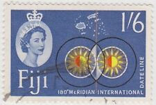 Stamp (F64)Fiji 1963 1/6d Multicolour SG318