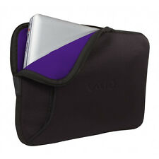 Sony VAIO VGP-AMC9 Reversible Laptop Case Sleeve MacBook Pro Black Purple 15.5""