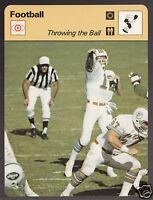 BOB GRIESE Miami Dolphins Quarterback Football 1979 SPORTSCASTER CARD 45-04B