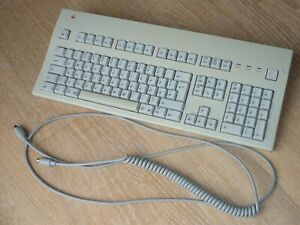 #1 Taktile Apple Macintosh ADB Tastatur Extended Keyboard II von 1995