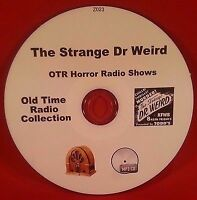 The Strange Dr Weird Horror OTR MP3 CD 29 Old Time Radio Shows Audio Book