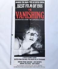 THE VANISHING - Original 1988 Extra LONG DAYBILL - Dutch GOLDEN CALF Winner