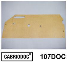 Set 2 Stück Türpappe Reparatur Türverkleidung für Mercedes-Benz 107 SL SLC