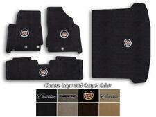 2010-2015 Cadillac SRX 4pc Velourtex Carpet Floor Mats - Choose Color & Logo