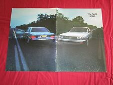 "N° 2091 / ""The AUDI 5000""  grand catalogue AUDI USA  1978"