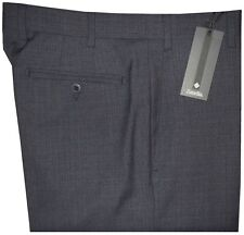$365 NWT ZANELLA NORDSTROM DEVON DK BLUE-GRAY 130'S WOOL DRESS PANTS 38