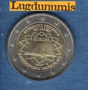 2 euro Commémo Allemagne 2007 A Traite de Rome A Berlin Germany
