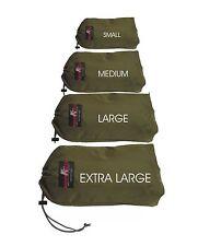 4 Stuff Bag Nylon StuffBag Organizers bag sack for camping gear and Set of 4