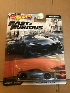 HOT WHEELS PREMIUM DIECAST - Fast & Furious - McLaren 7205 - 2/5 - NEW