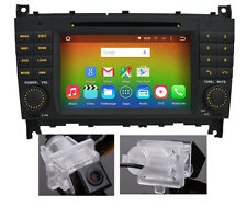 Camera Android 6.0 Radio DVD GPS Sat Nav For Mercedes Benz C-W203 CLK-W209 Map