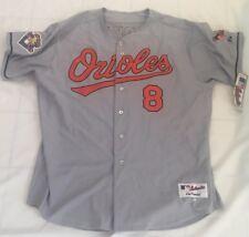 cb9e59b6a Cal Ripken Jr. 2001 Baltimore Orioles Grey Away Majestic Jersey Size 56 BNWT