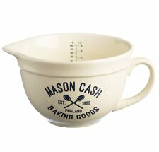 Mason Cash VARSITY MEASURING JUG 1L - CERAMIC Cream