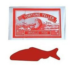 720 Fortune Teller Fish Party Favors Vending REALLY FUN