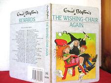 Enid Blyton THE WISHING-CHAIR AGAIN 1990 hardcover Rewards #35