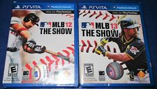 MLB 13: The Show + MLB 12: The Show Sony PlayStation Vita *New-Sealed-Free Ship