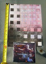 Paul McCartney World Tour 1989 Program + Tour CD w/ 1 of Montreal Show RARE!!!