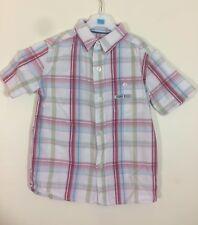 chemise manches courtes carreaux Pick Ouic taille 4 ans tbe (C738)