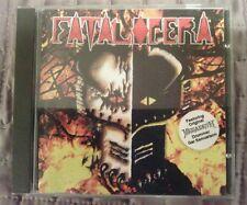 Fatal Opera self titled CD 1995 Massacre Records MASS CD 051 VG ex Megadeath drm