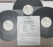 THE DOORS Superstar Concert 1991 Live RADIO SHOW 3xLP + Cues JIM MORRISON
