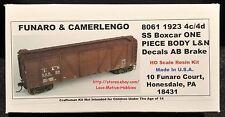 Funaro F&C 8061 279-8061  LOUISVILLE NASHVILLE 923 Wood L&N 4c/4d Boxcar 1-PIECE