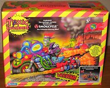 Toxic Crusaders 1991 Smogcycle Toy Smog Cycle Bonehead New in Factory Sealed Box