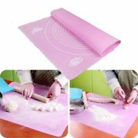 Silicone Scale Baking Mat Rolling Kitchen Pizza Oven Non Stick Pastry Bakeware