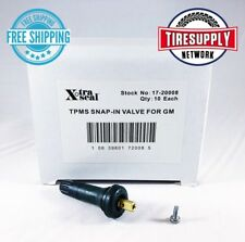 17-20008 Xtra Seal TPMS Snap-in Valve 31 Inc (10 Pieces per Box) GM