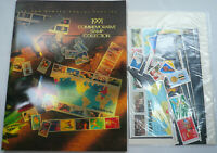 Sealed 1991 Commemorative Stamp Collection Yearbook USPS Mint Set with Stamps