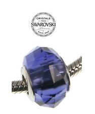 BECHARMED purple Swarovski crystal charm bead